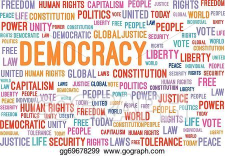 democracy clipart power to person