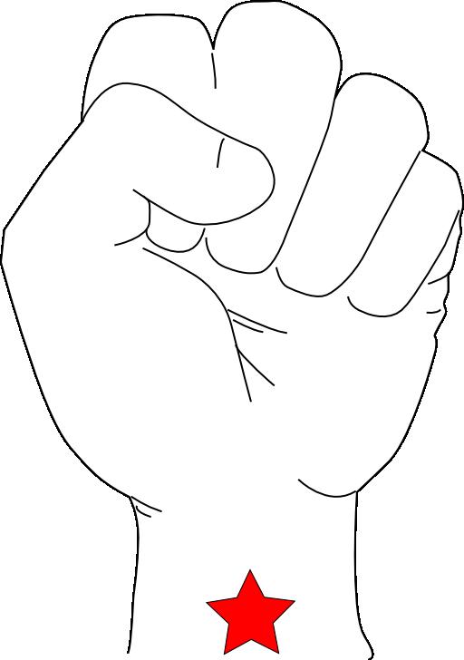 Democracy clipart revolution fist. I royalty free public