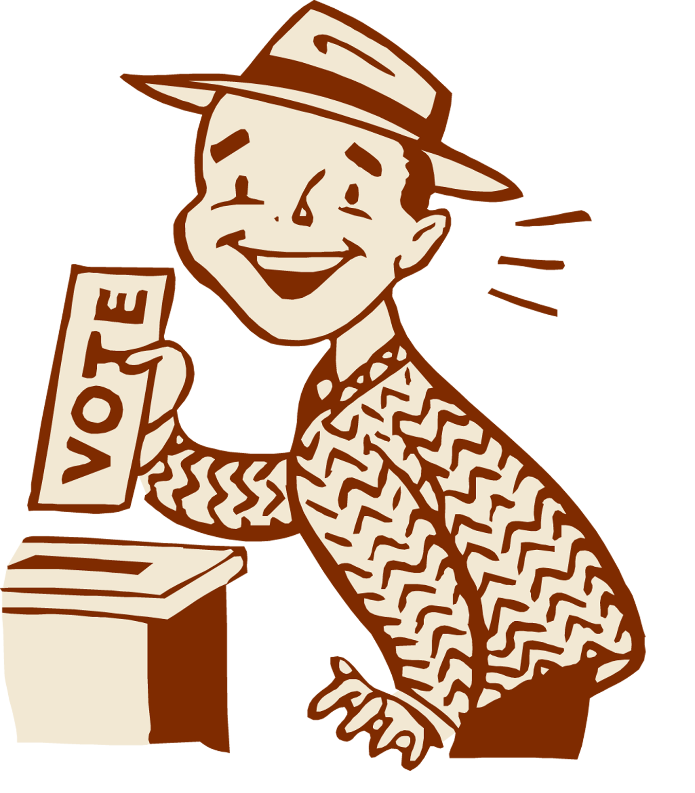 Be sure to vote. Democracy clipart school election