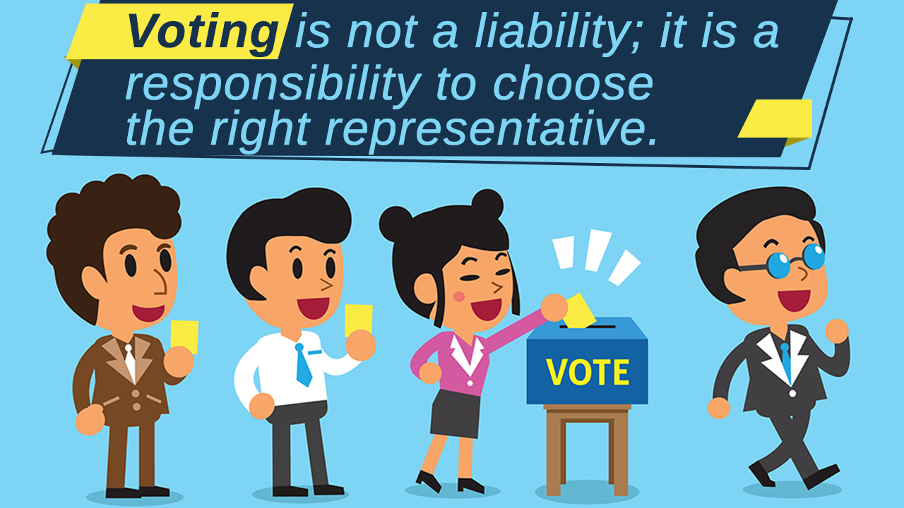 Why is an important. Voting clipart right responsibility