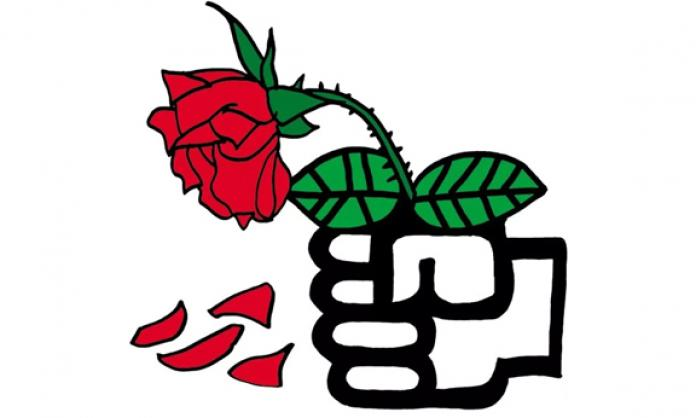 The undoing of red. Democracy clipart social welfare