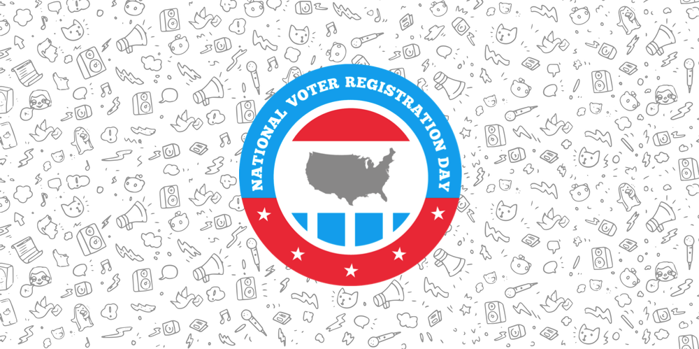 Democracy clipart voter registration. Reddit is partnering with