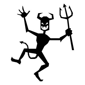 Free demons cliparts download. Demon clipart