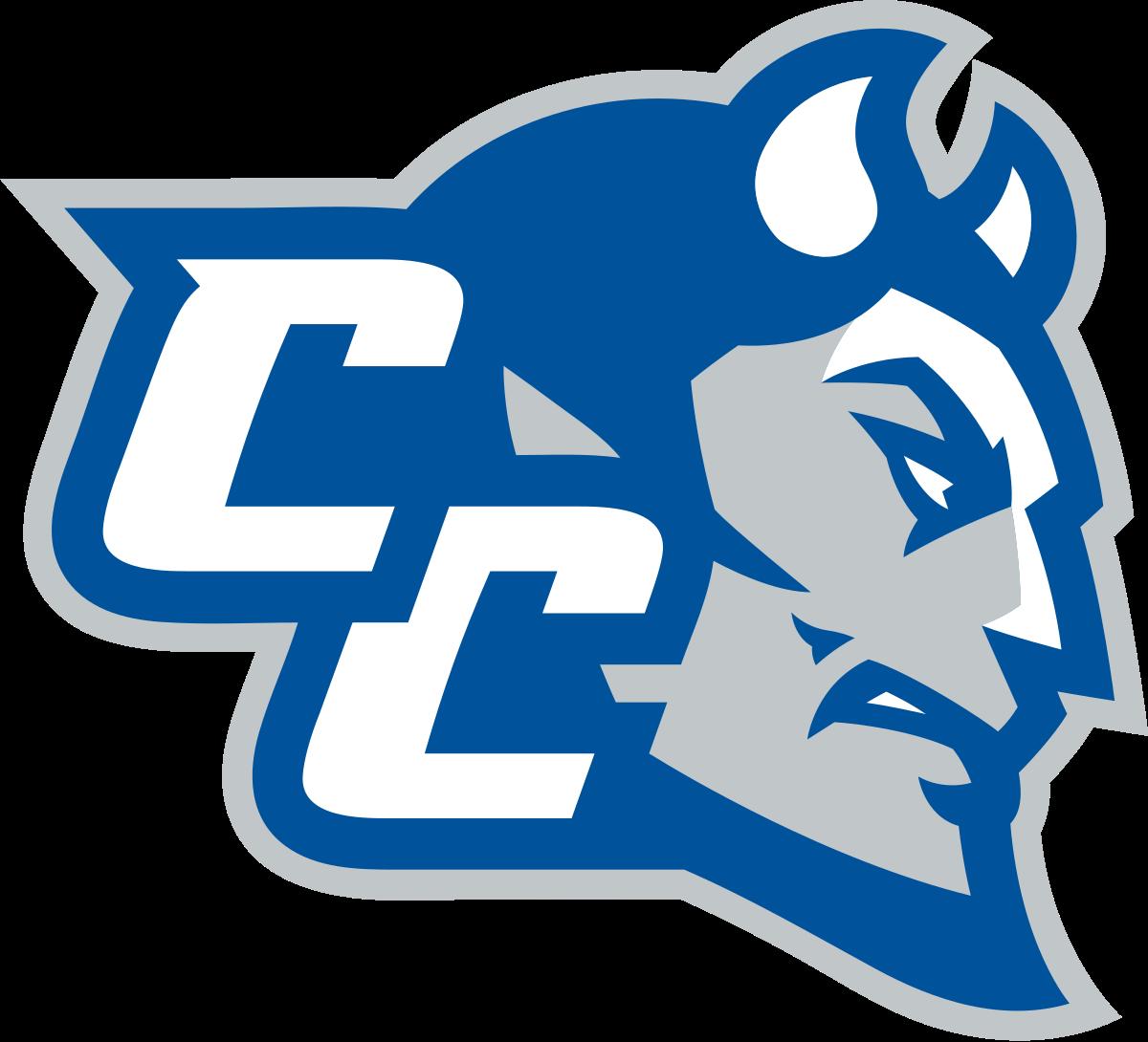Husky clipart connecticut university. Central blue devils wikipedia