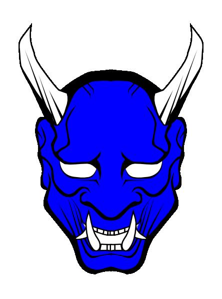 Devil clipart old fashioned. Blue clip art images
