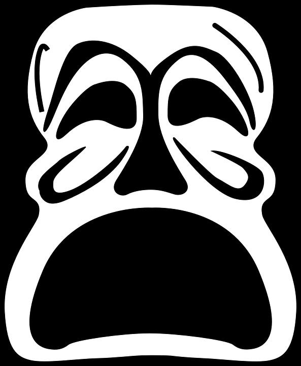Demon evil free on. Mask clipart criminal