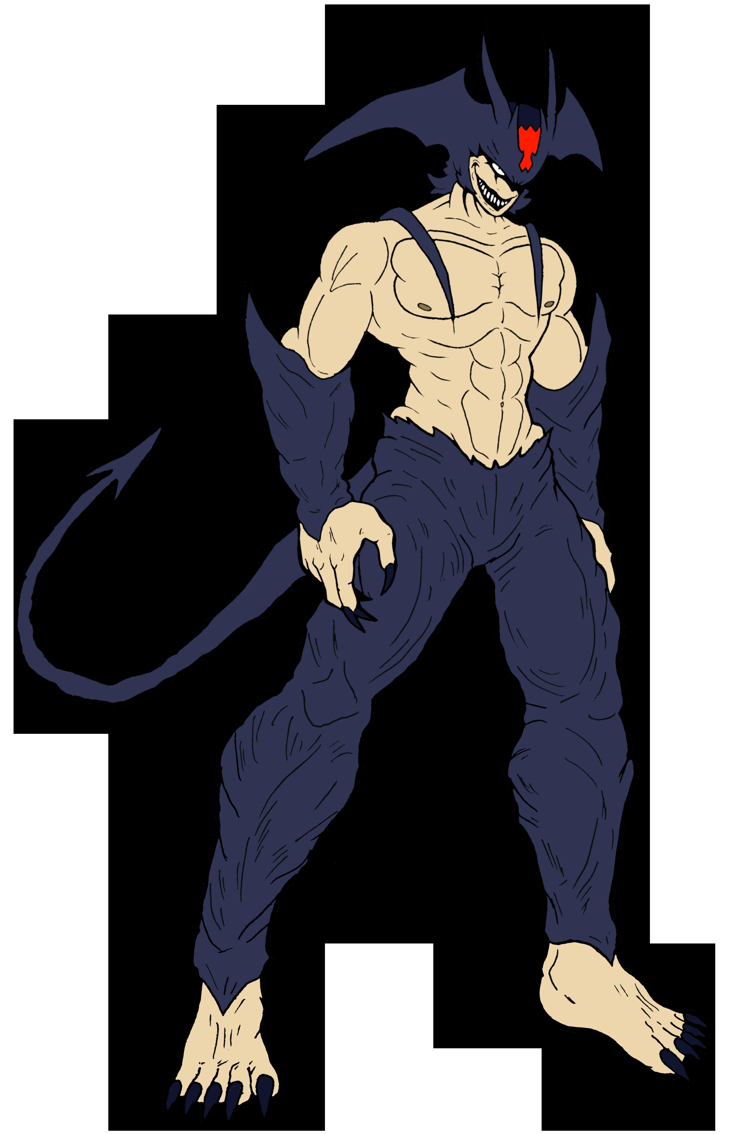 Devil devil man