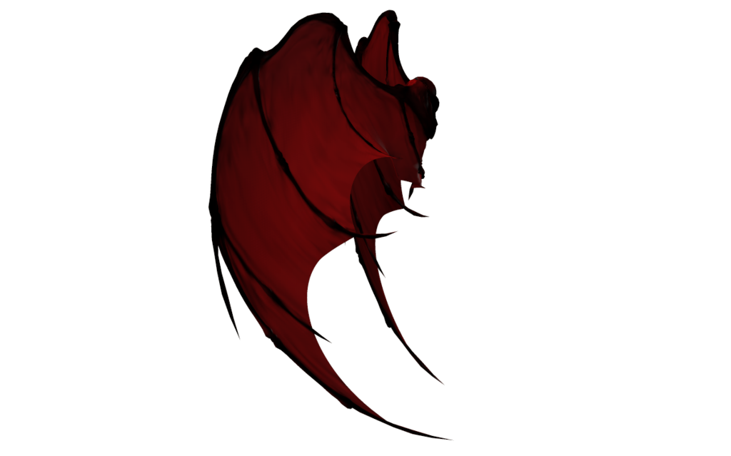 Devil clipart holding pitchfork. Demon wing drawing at