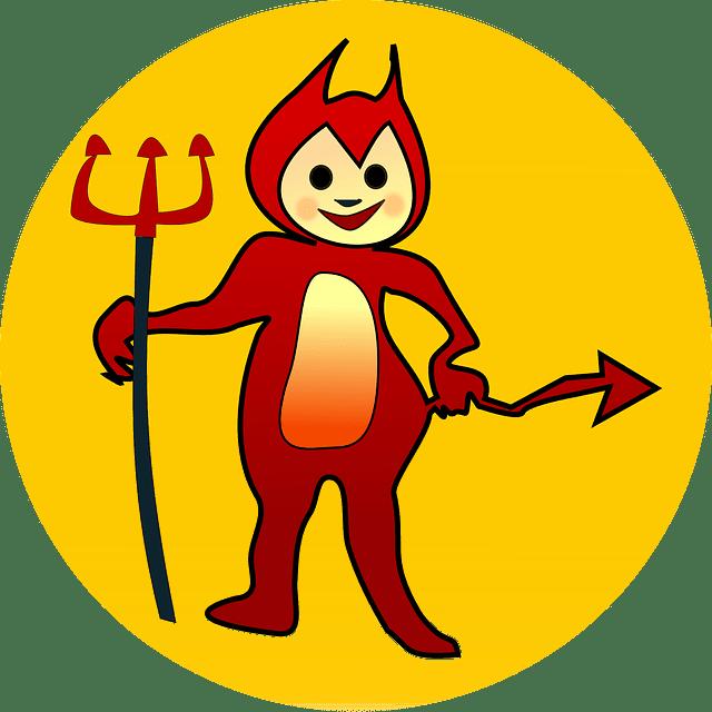 Demon jokes about demons. Devil clipart devil child