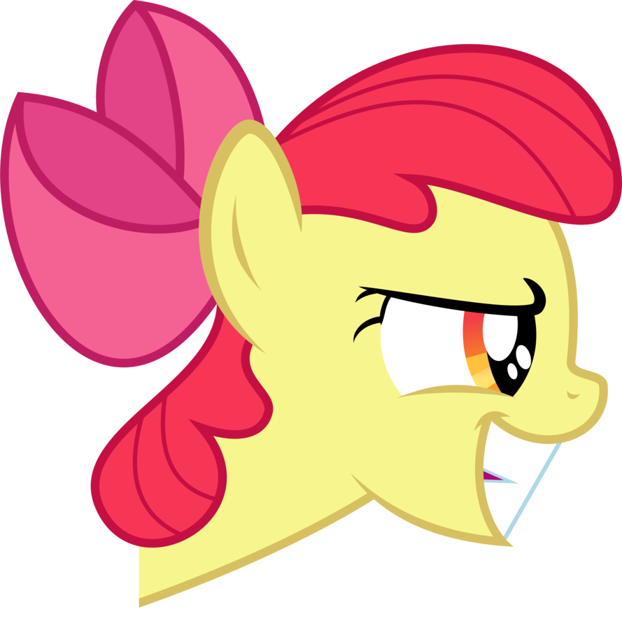 Image apple bloom grin. Knight clipart evil knight