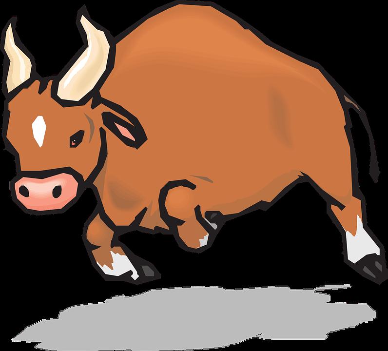 Demon cow cliparts shop. Ox clipart cute