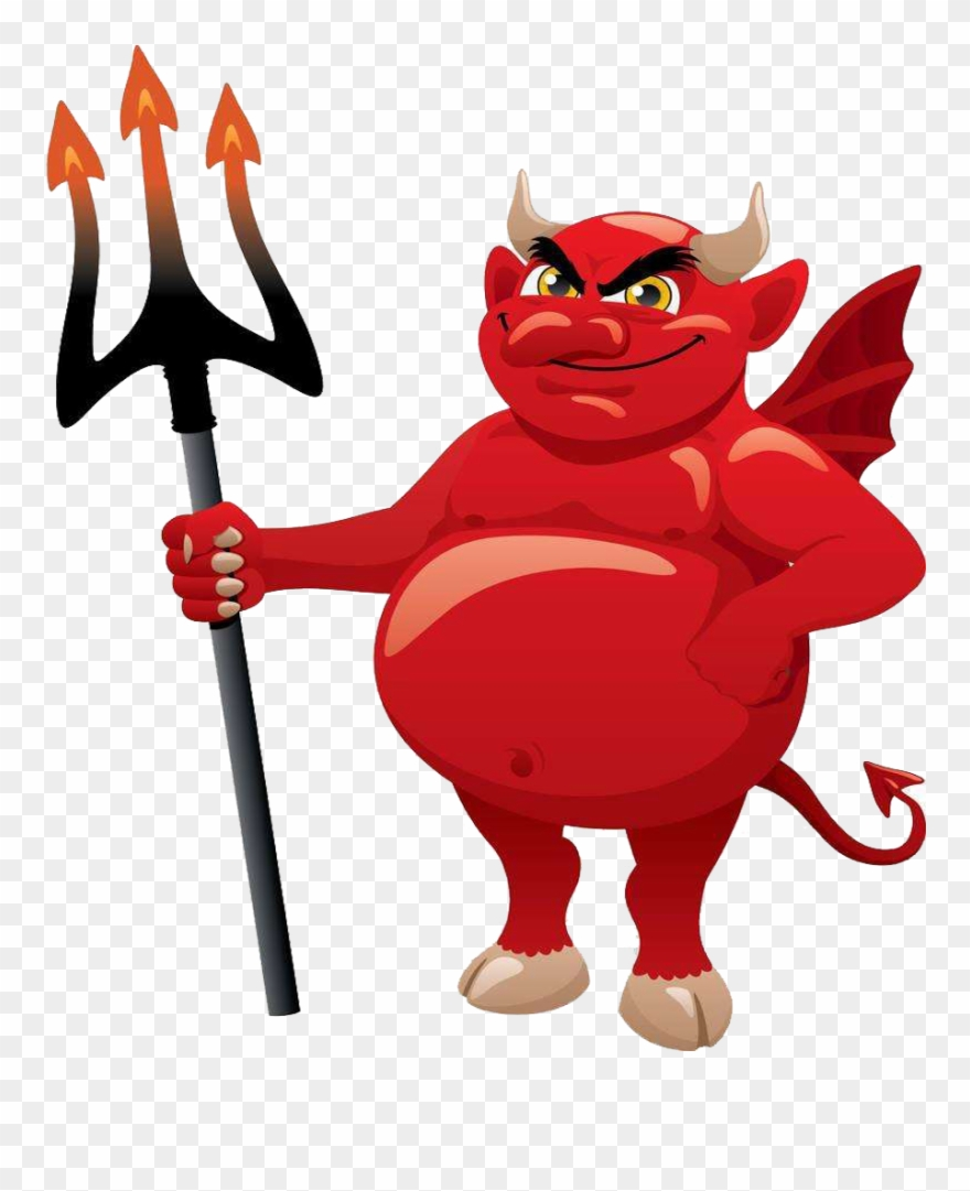 Demon clipart satanic. Devil satan cartoon clip