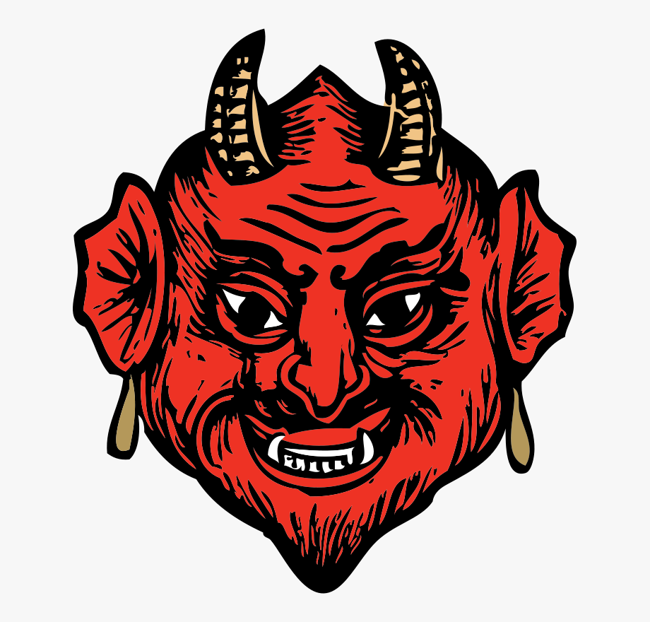 Satan transparent free cliparts. Demon clipart satanic