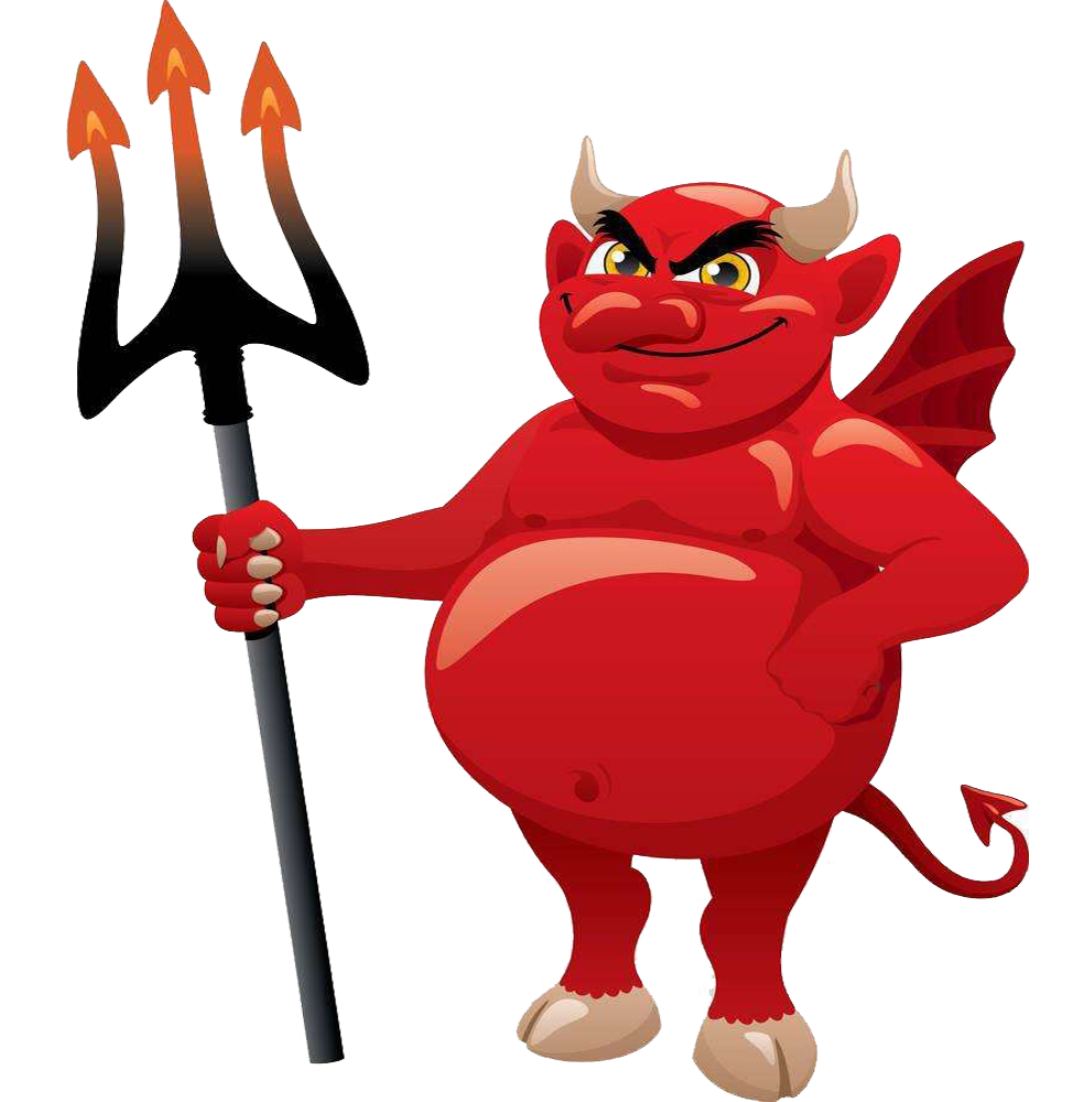 Devil satan cartoon clip. Demon clipart satanic