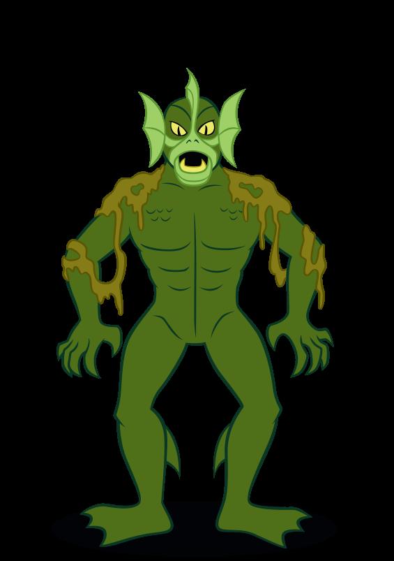 Scooby doo clipart scared. Sea demon