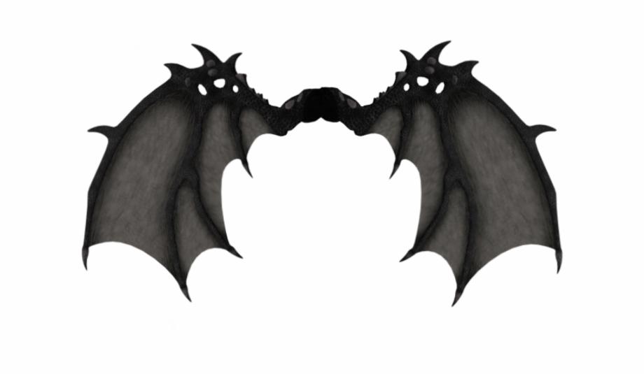 Demon clipart wings. Demonic wing winged freetoedit