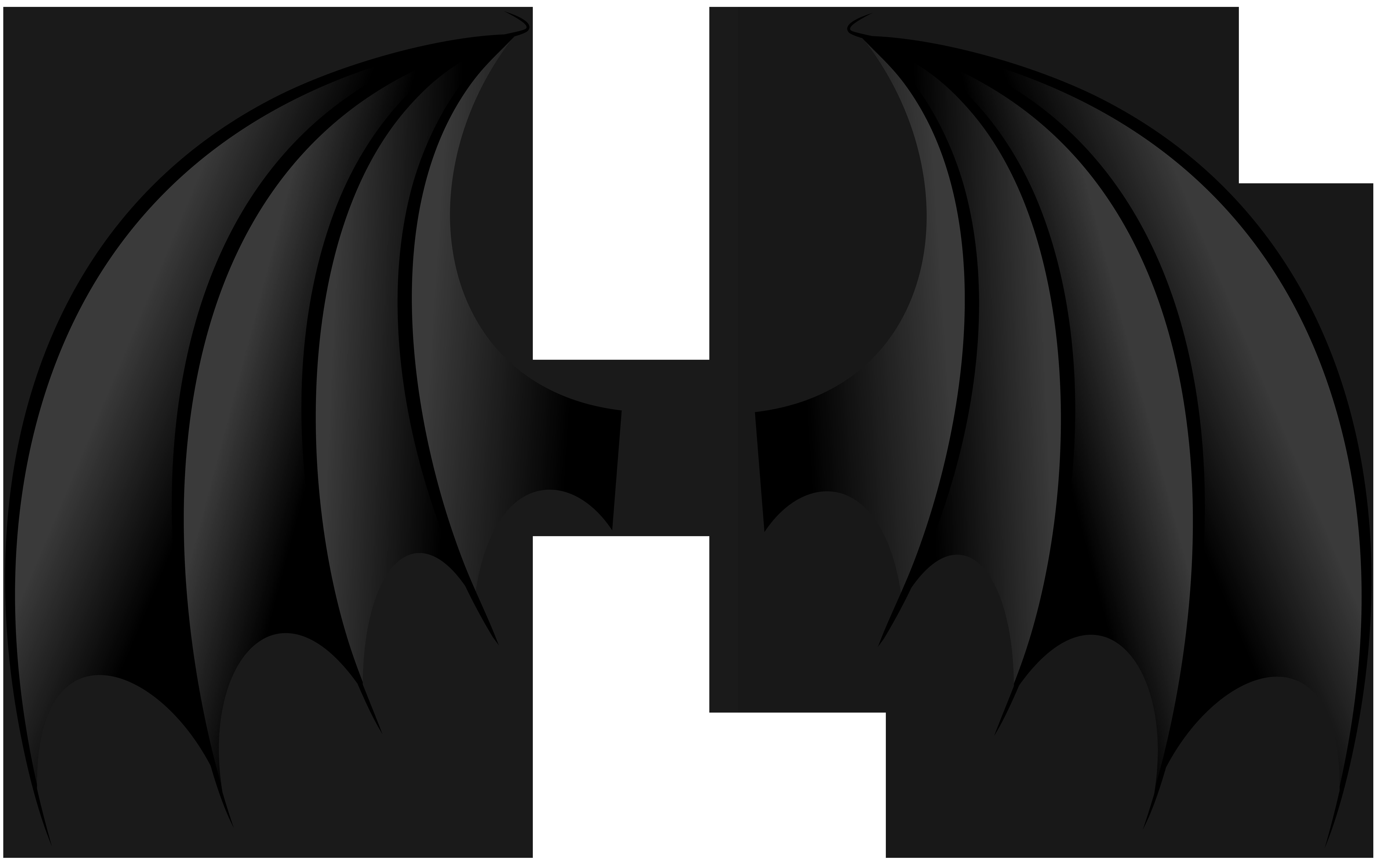 Png clip art image. Demon clipart wings