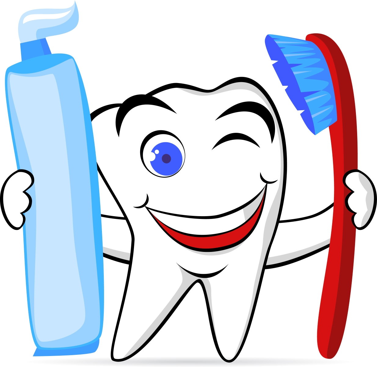 Free dental pictures clipartix. Dentist clipart brushed tooth