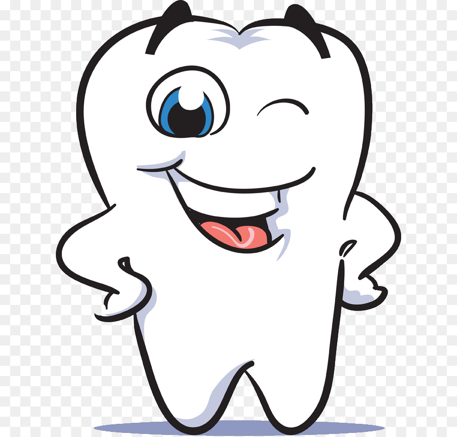 Dental clipart. Human tooth smile dentistry