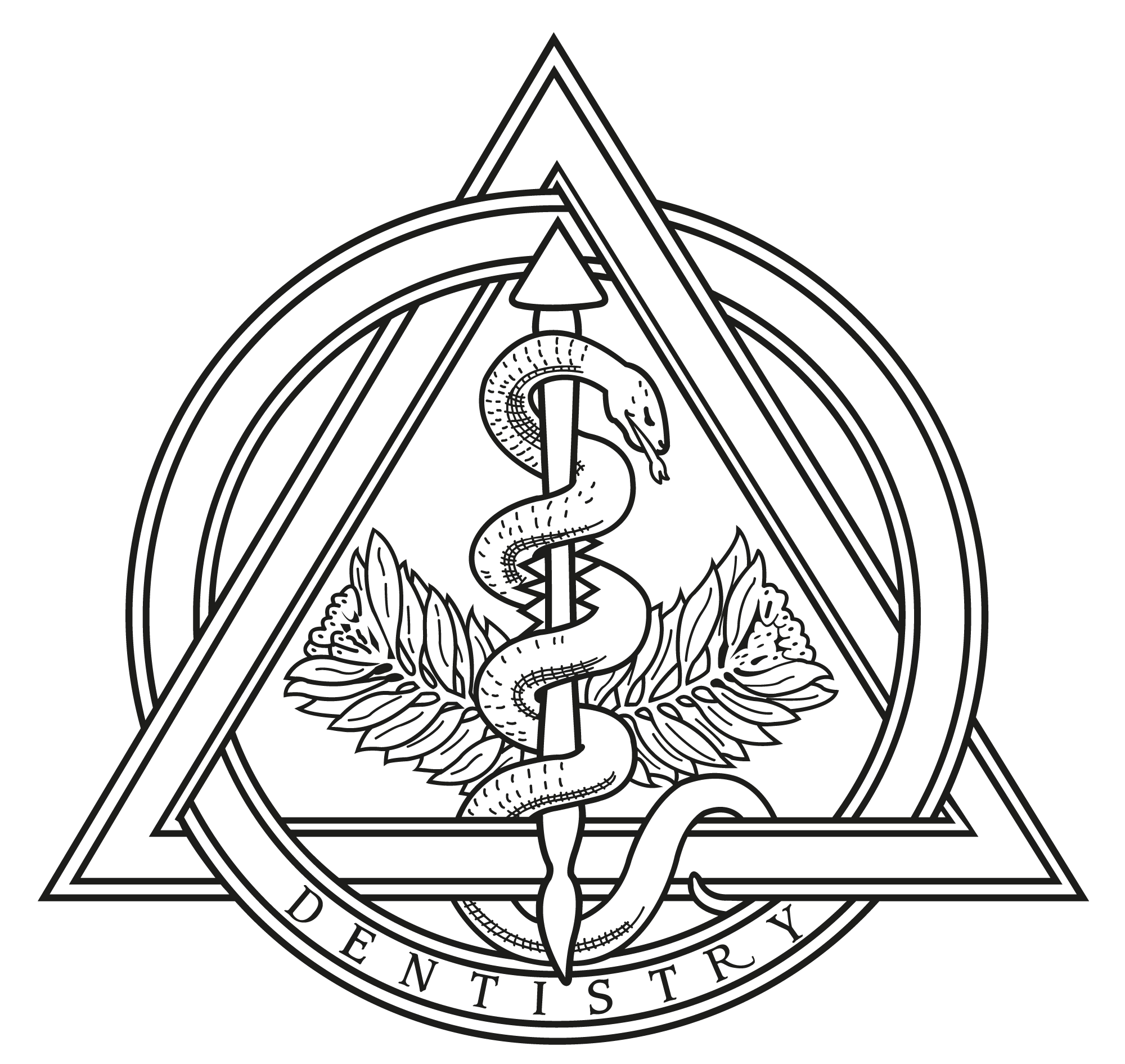 Dentistry symbol acur lunamedia. Library clipart dentist