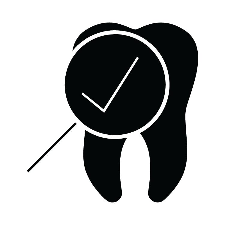 Dentist clipart symbol. Dental checkup free icons