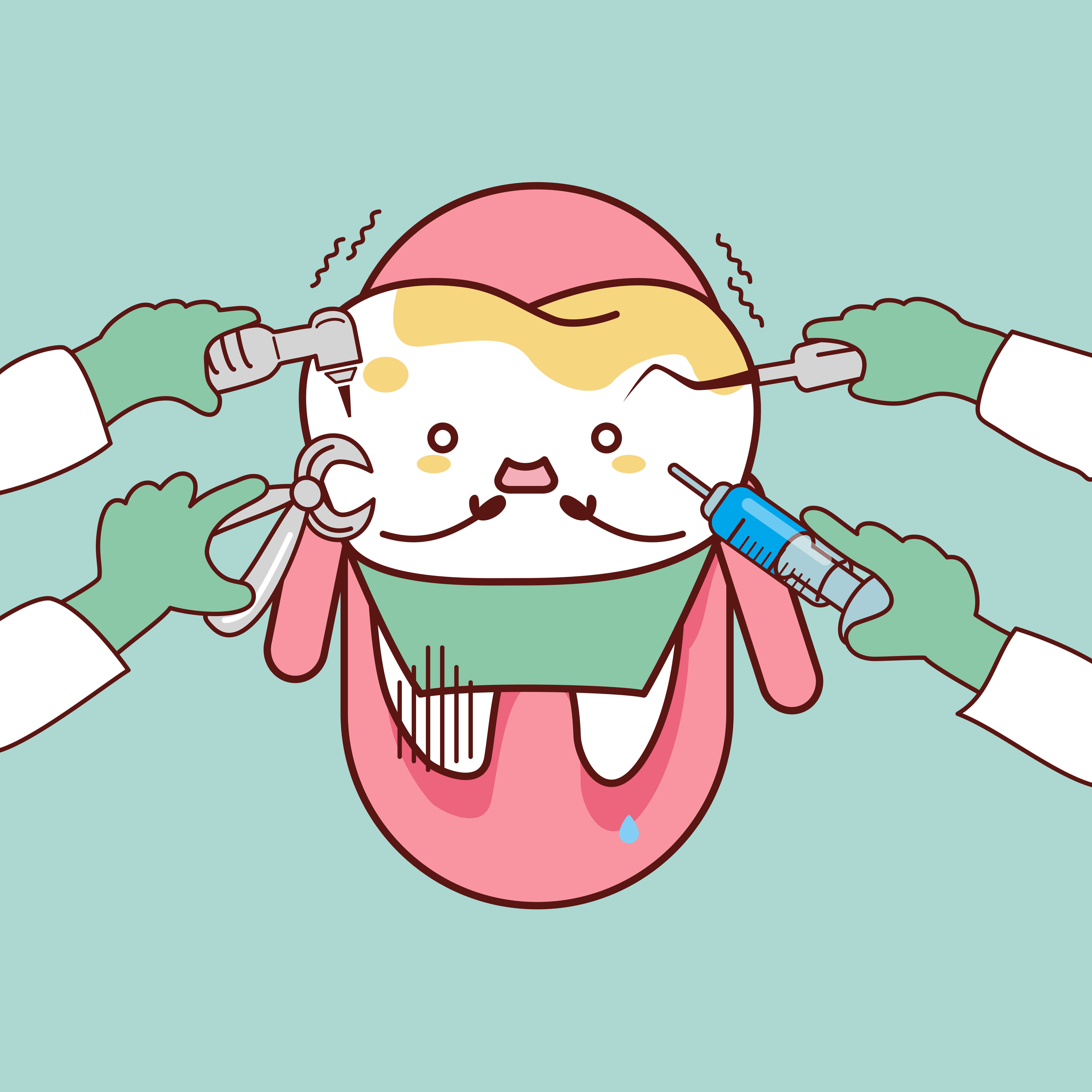 The real cause of. Dentist clipart dental caries