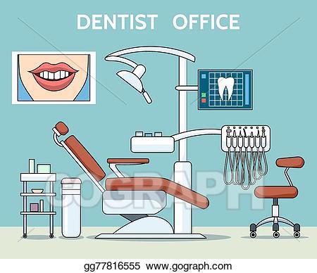 Clip art vector office. Dentist clipart dental hospital