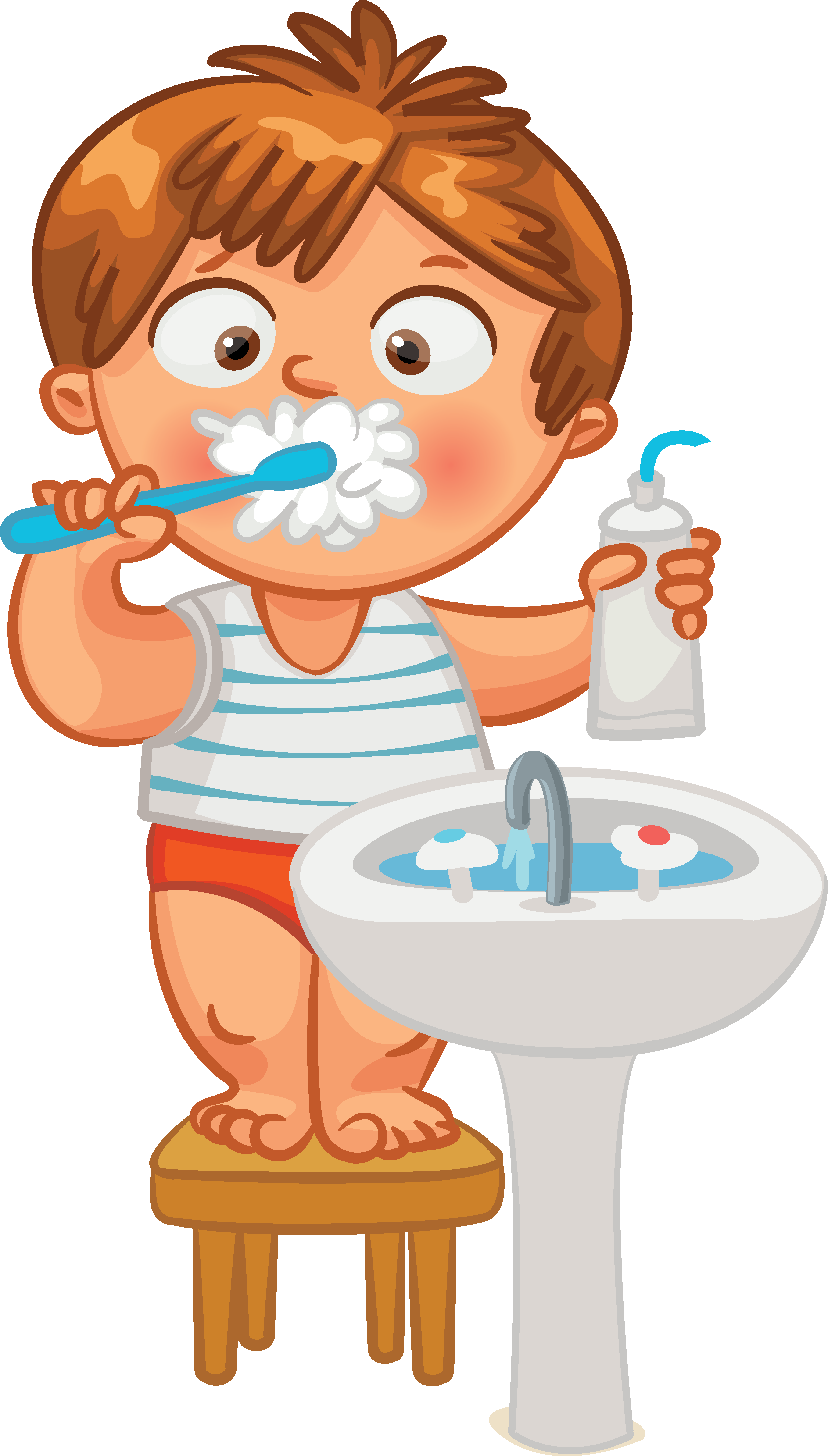 Brushing human clip art. Tooth clipart dental hygiene