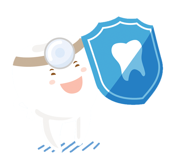 Floss like a boss. Dentist clipart twice