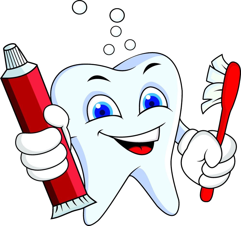 Human tooth dentistry whitening. Dentist clipart personal hygiene