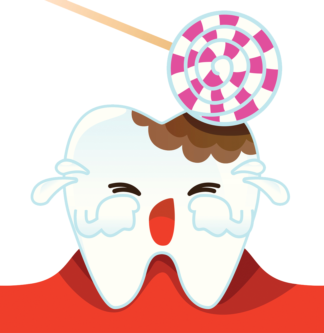 Tooth decay pathology dentistry. Hurt clipart tootache
