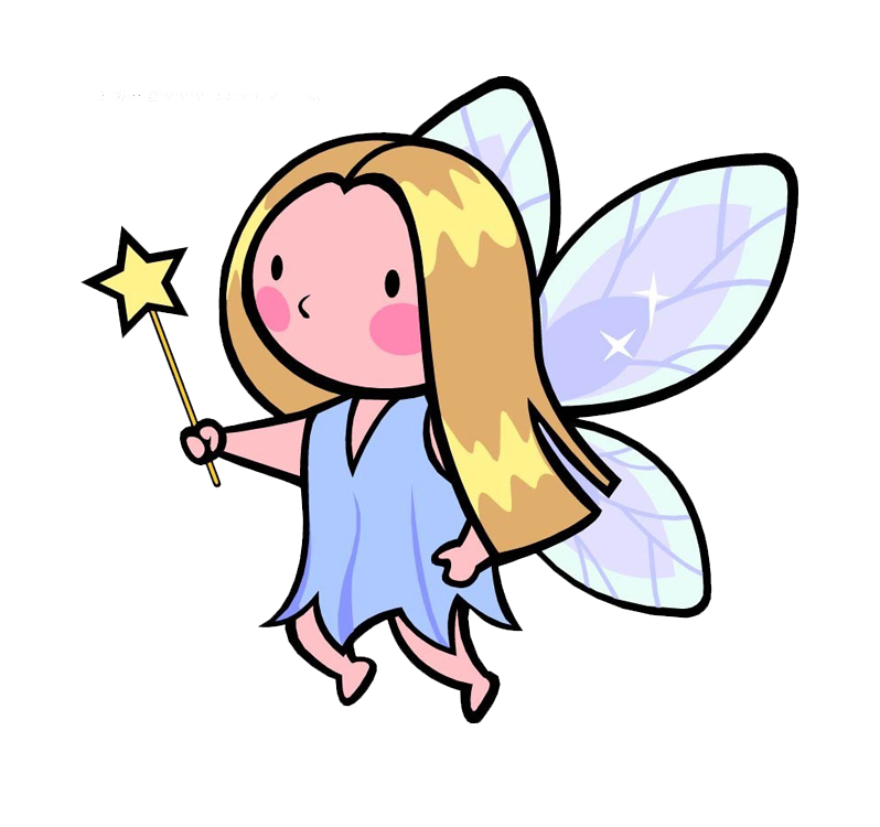 Drawing child clip art. Magic clipart tooth fairy