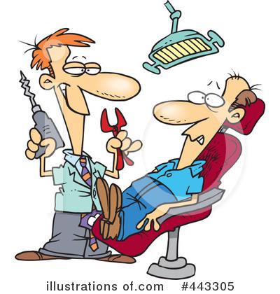 Illustration by toonaday royaltyfree. Dentist clipart