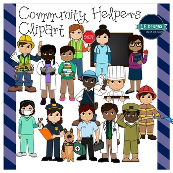 Helpers l e designs. Dentist clipart community worker