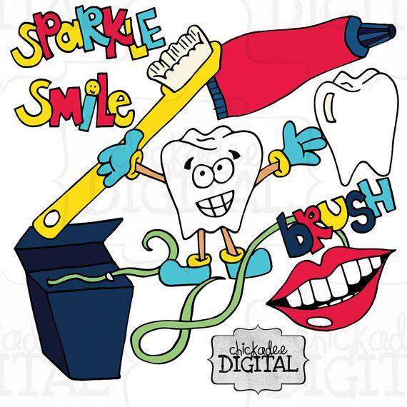 Instant download clip art. Dentist clipart dental hygienist