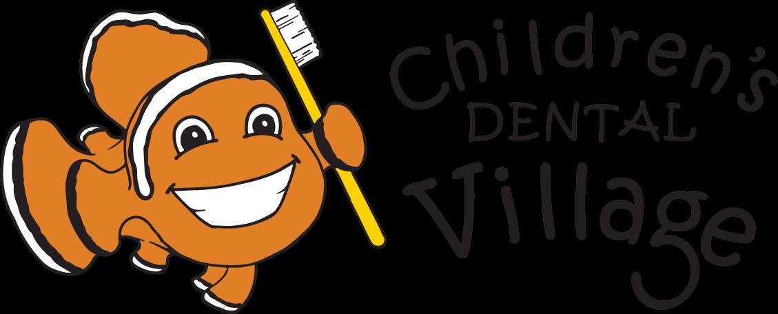 Children s village . Dentist clipart dental sealant