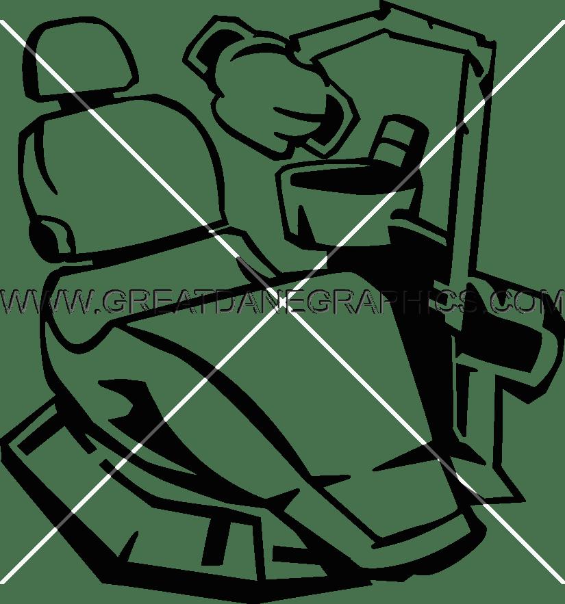 Production ready artwork for. Dentist clipart dentist chair