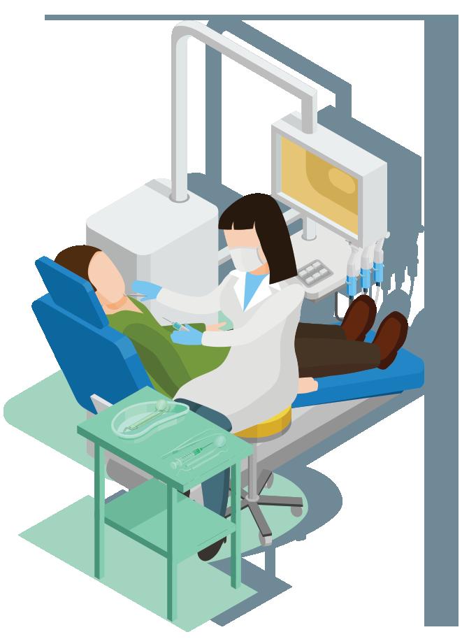 Affordable dental care loveland. Dentist clipart equipment