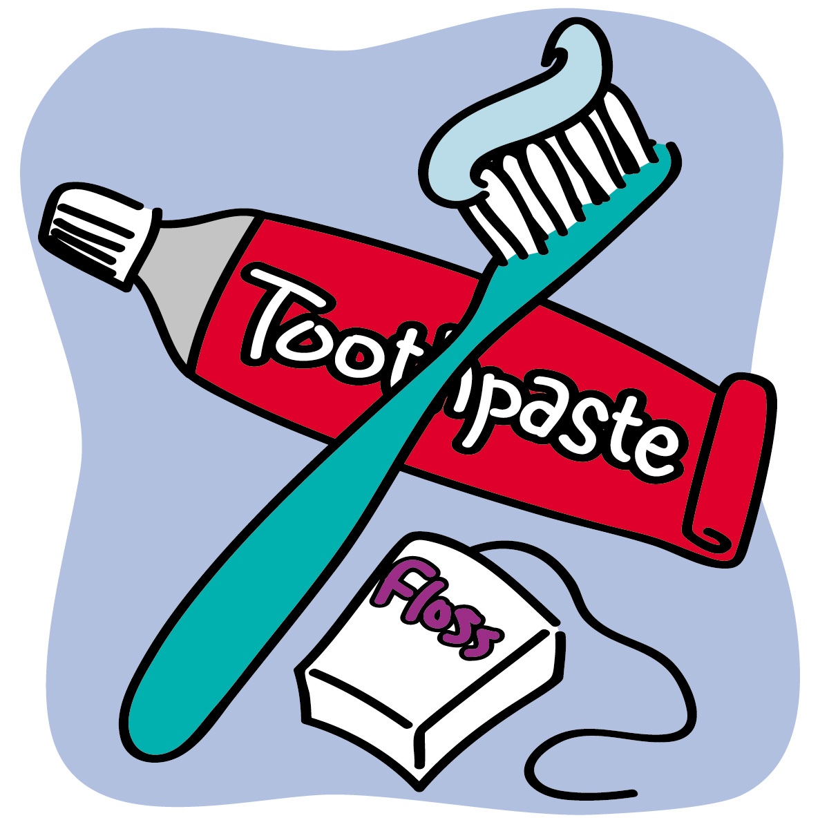 Dentist clipart health product. Images for cartoon flossing