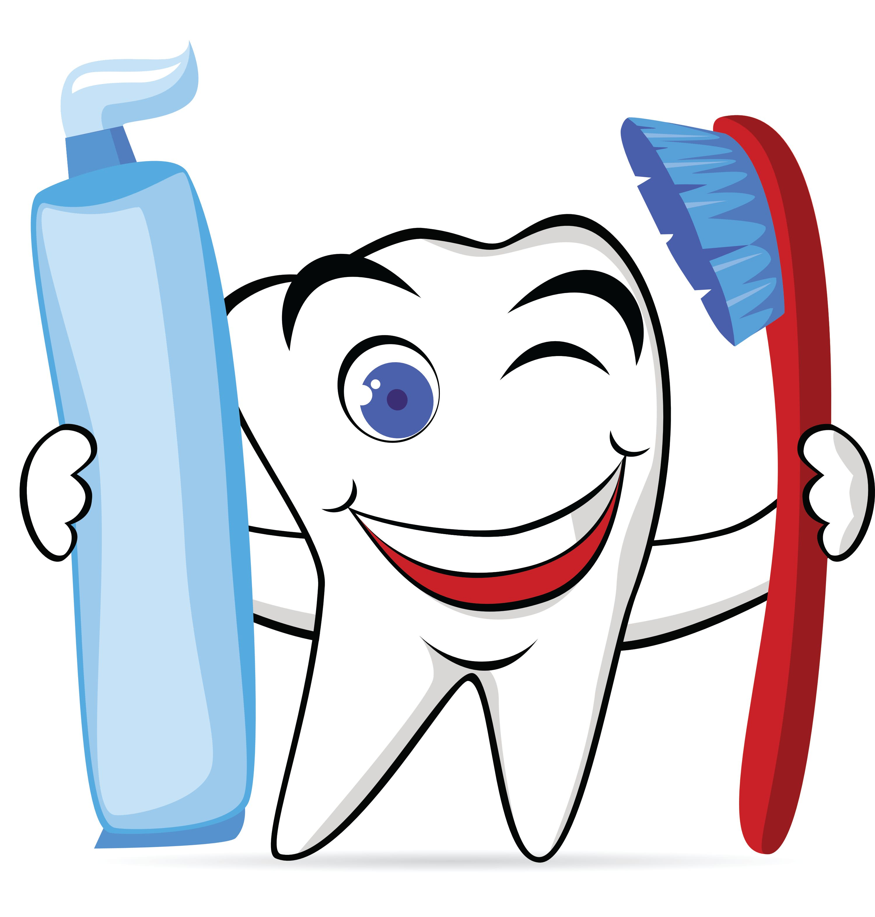 Free oral health cliparts. Dentist clipart healthy tooth