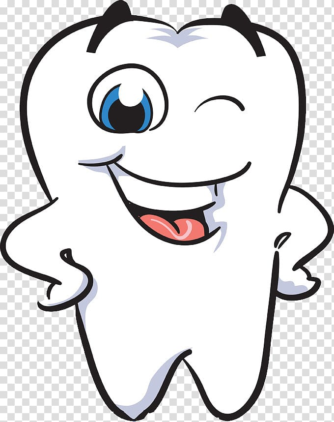 Dentist clipart nice tooth. White illustration human smile