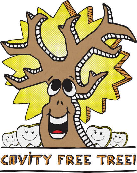 Pediatric dental services children. Dentist clipart visited