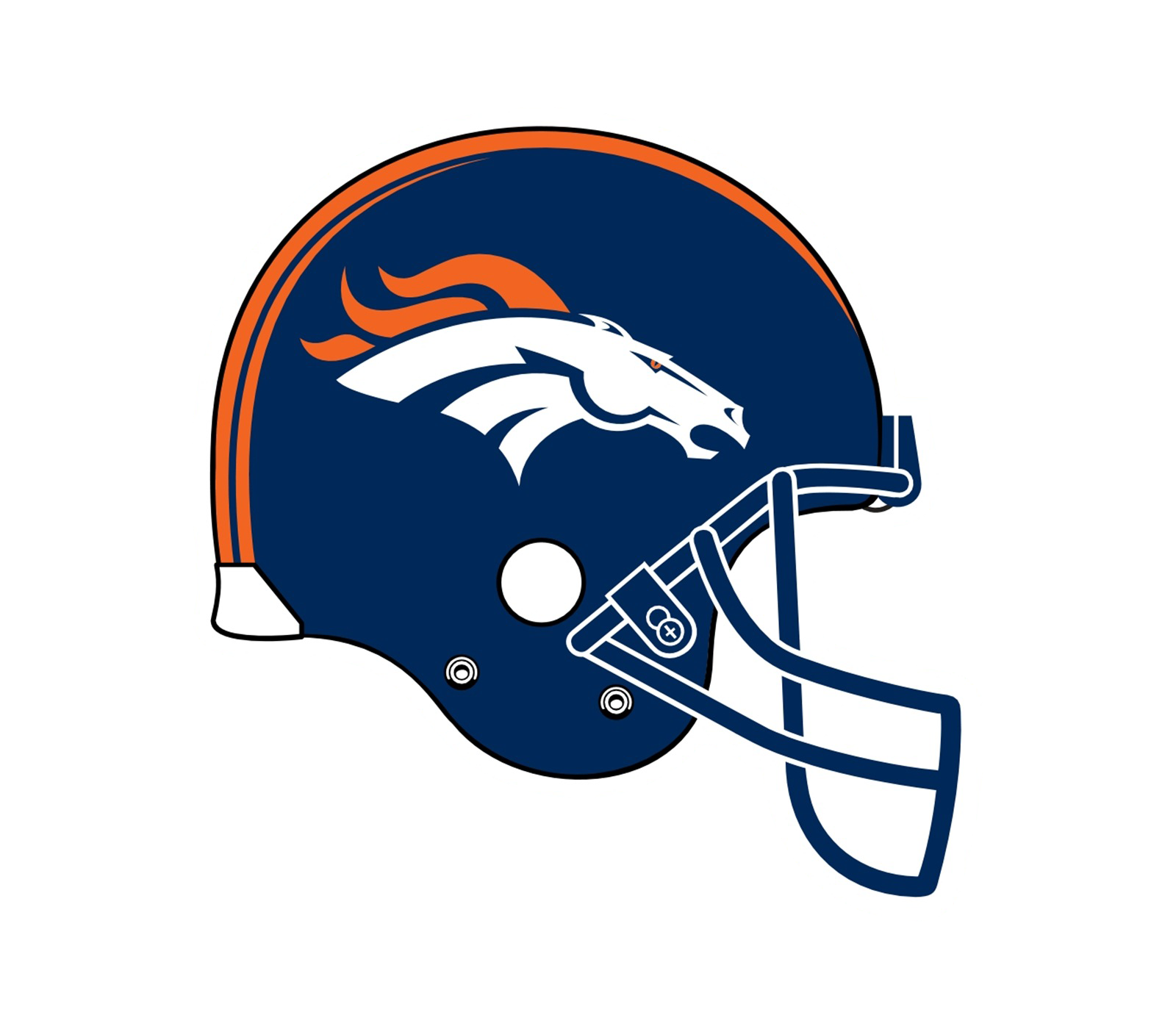 Denver broncos helmet png. Logo transparent svg vector