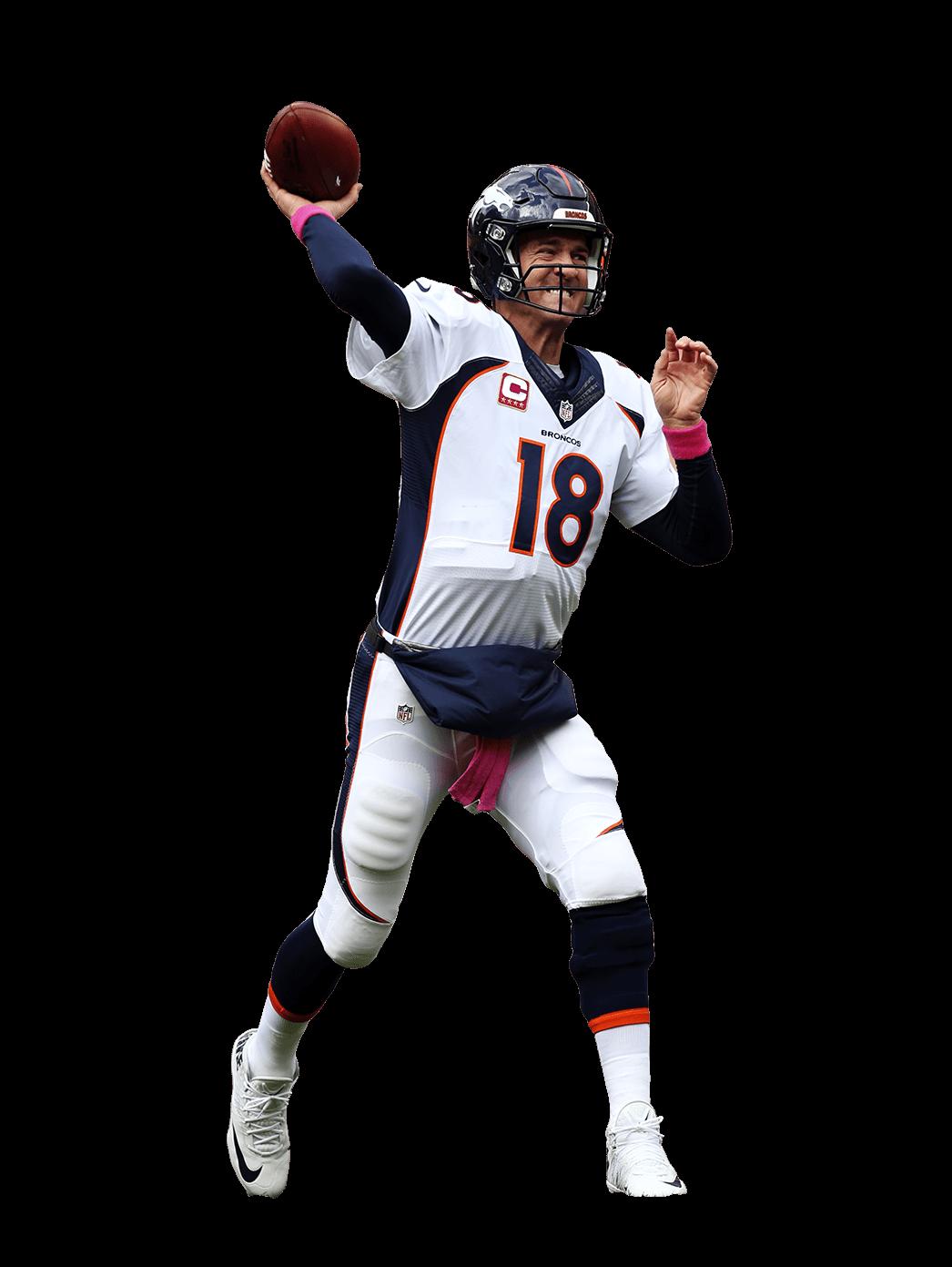 Player transparent stickpng. Denver broncos helmet png