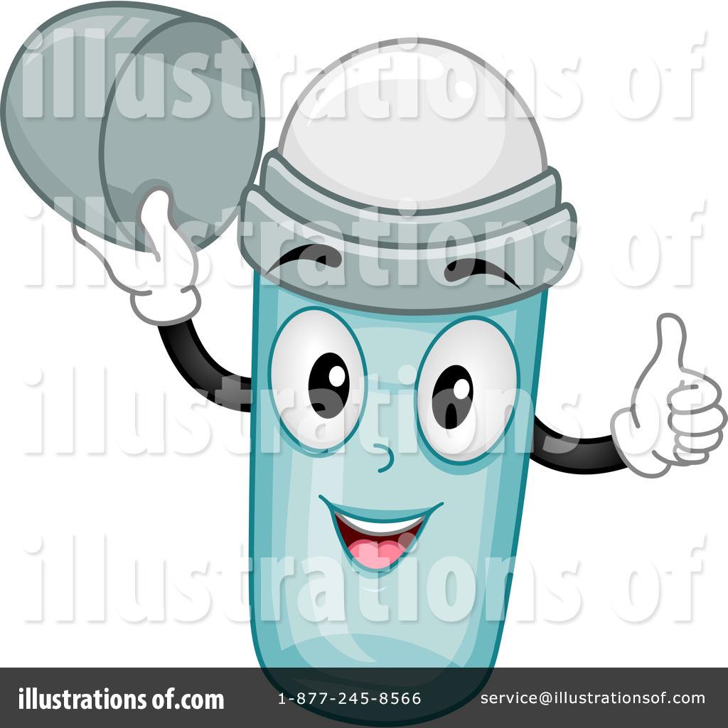 Deodorant clipart. Illustration by bnp design