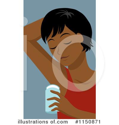 Illustration by rosie piter. Deodorant clipart
