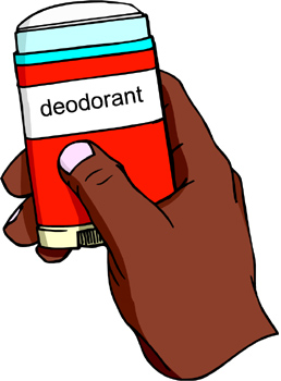 Deodorant clipart. The average person forgets