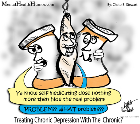 Depression clipart chronic. Treating with the what