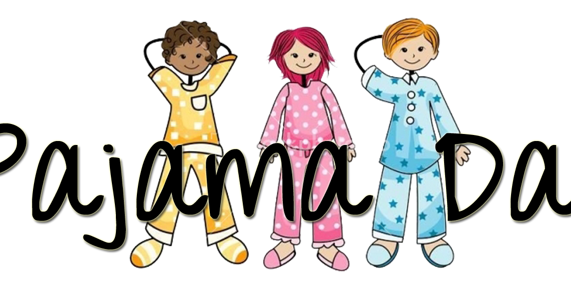 Literacy clipart family literacy night. Comfort pajamas day free