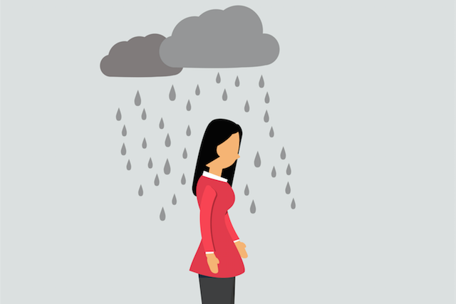 Depression clipart depressed student. The unglamorous truth about